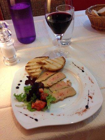 O Piment Rouge : Foie gras