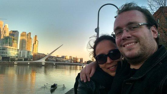 Puerto Madero: Pueto Mardero, com a Ponte de La Mujer ao fundo.
