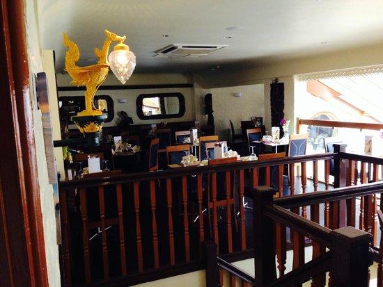 U-Thai Restaurant and Bar: Lots of  Seating Upstairs...