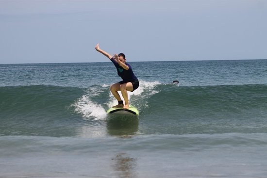 Get Lost In Costa Rica: Learning to Surf