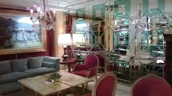 Huentala Hotel: AREA DESCANSO