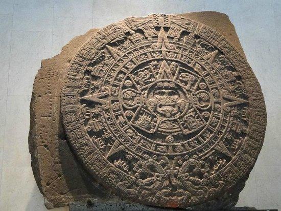 Musée national d'anthropologie de Mexico : Pedra do Sol