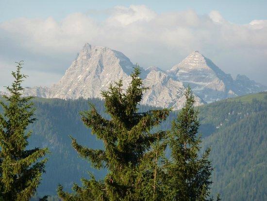 Berghotel Pointenhof: Balkonaussicht