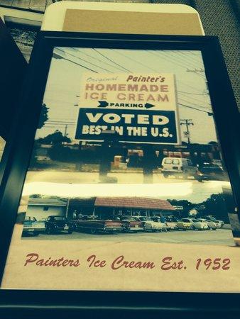 Original Painters Homemade Ice Cream