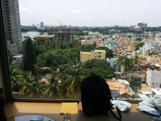 Hyatt Bangalore MG Road: The View.