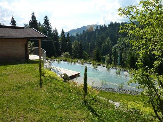 Berghotel Pointenhof: auch im Juni schon zum Baden geeignet