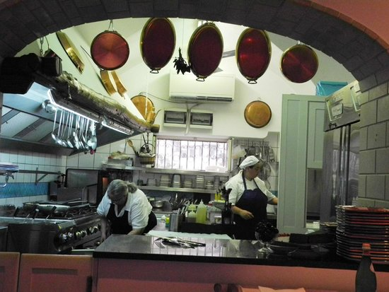 Donna Rosa il Ristorante: The open Kitchen