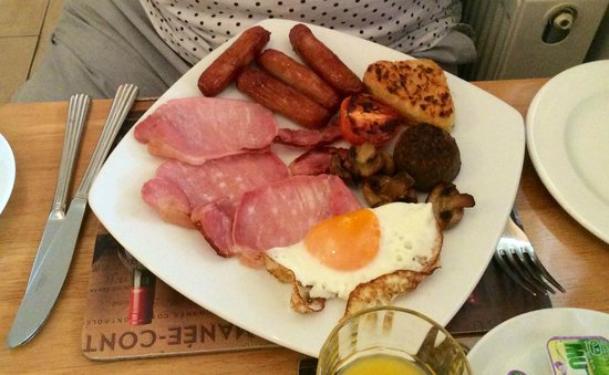 Avlon House Bed and Breakfast: Irish Breakfast