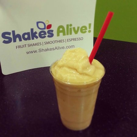 Shakes Alive! Fruit Shakes: Mango Tango Smoothie