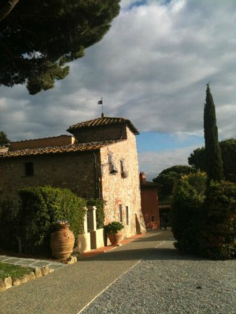 Salvadonica - Borgo Agrituristico del Chianti : Vista da propriedade - sensacional!