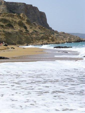Red Sand Beach (Kokkini Ammos): magnifique