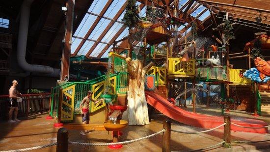 Six Flags Great Escape Lodge & Indoor Waterpark : Parc aquatique