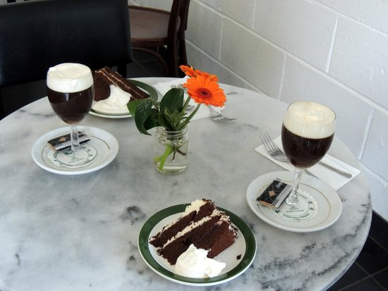 Ladies' View: Irish coffee and cake