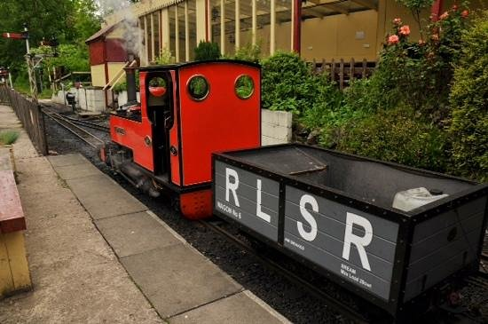 Rudyard Lake Steam Railway: All aboard.