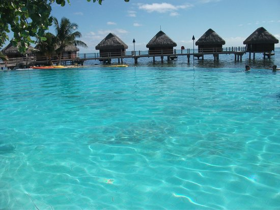 Manava Beach Resort & Spa - Moorea: piscina