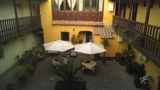 Hostal Quipu Cusco: Courtyard