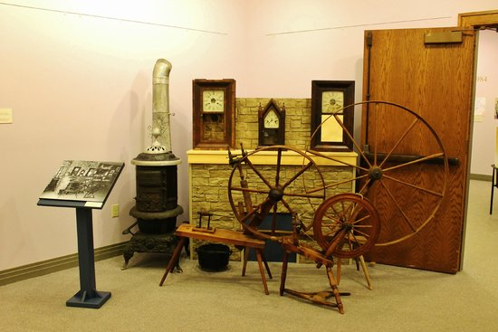 Miscouche, Kanada: Some of the artifacts of the era