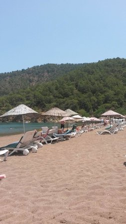 Buhana Hotel: Super bir koy.buhana otel plaji.