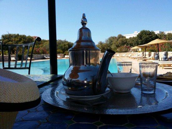 Domaine de l'Arganeraie : Les plaisirs du thé à la menthe