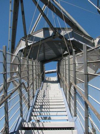 Tetraeder Bottrop: Лестница