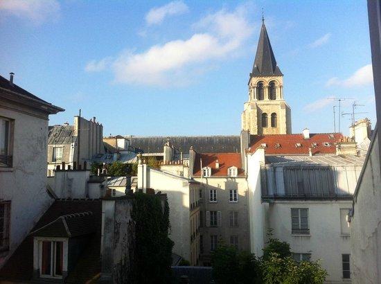 Hotel des Marronniers: view