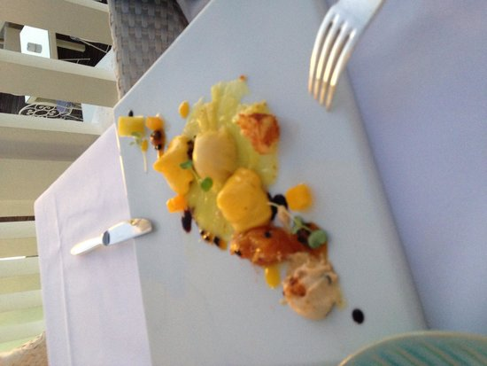 BELA VISTA Hotel & SPA: Le chef vient vous saluer a l'issue du repas