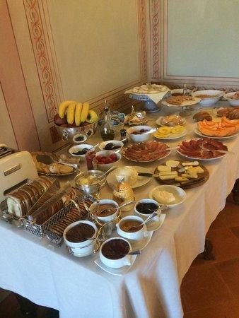 Campo Regio Relais: Colazione