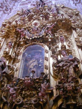 Santa Prisca de Taxco: Ołtarz