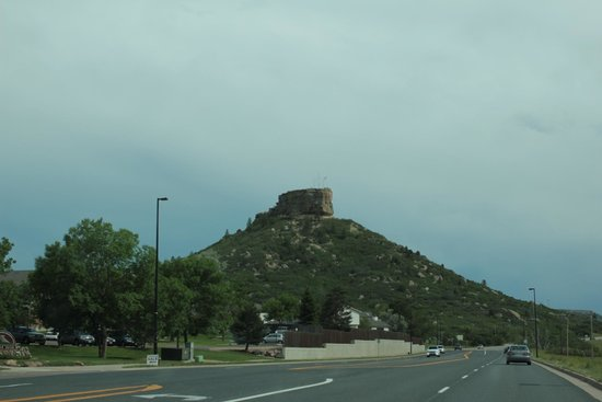 Rock Park : castle rock from the highway