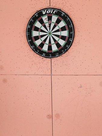 Vento Boutique Hotel: The Vento dartboard.