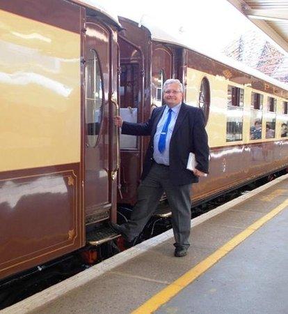 Belmond British Pullman: About to board