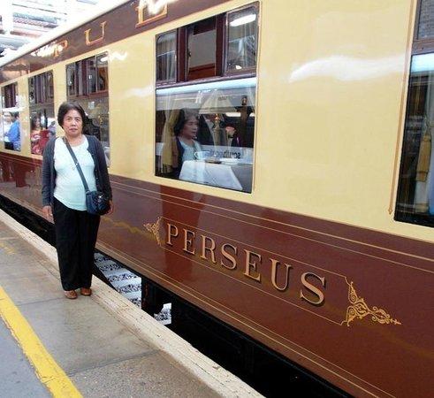 Belmond British Pullman: Beside Pullman Car 'Perseus'