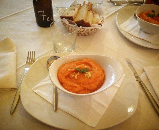 Daltrocanto: Crema di carote e zenzero, troppo buona