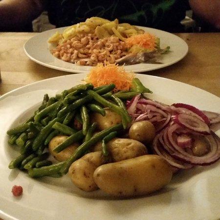 Brauhaus Sion: matjes dinner
