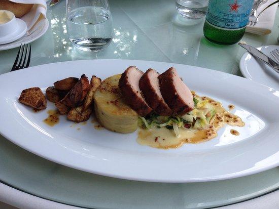 Hob Nob Restaurant : Tenderloin of Pork