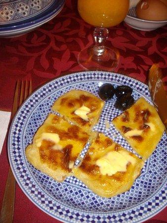 Riad La Perle De La Medina : Breakfast