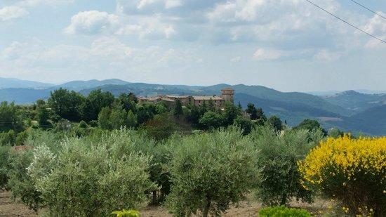 Relais Il Canalicchio: vista panoramica del borgo