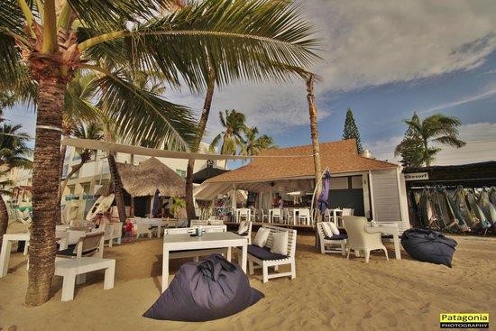 Eze Beach Bar Restaurant: Panoramica