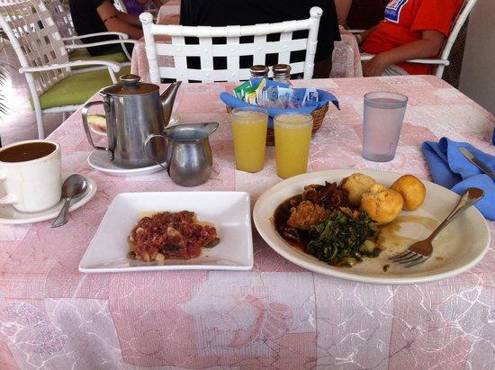 El Greco Resort : Jamaican Breakfast