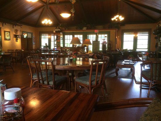 Kilauea Lodge & Restaurant : Very cozy
