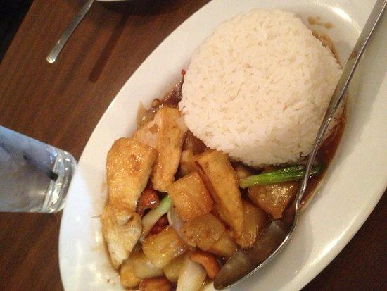 Thai Spice: Tofu and garlic sauce