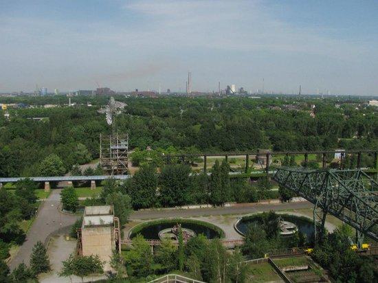 Landschaftspark : Вид сверху