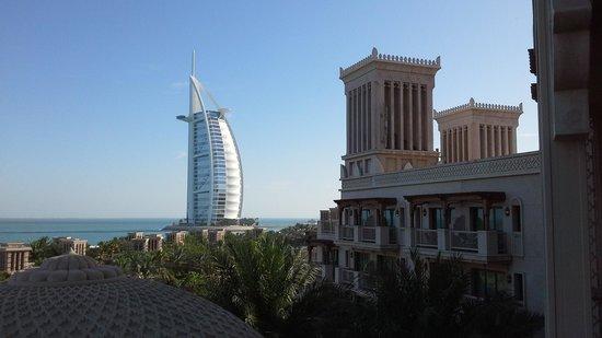 Jumeirah Al Qasr at Madinat Jumeirah: the view from our room