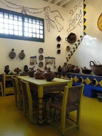 Musée Frida Kahlo : Um cantinho da casa...