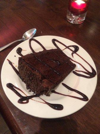 Soosi: chocolate fudge cake