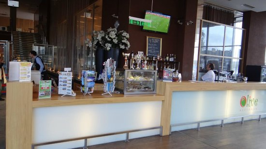 Hotel Euroopa: ресипшен и лобби-бар