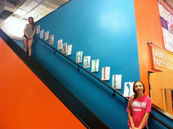 Sky Zone: Birthday parties are personalized.