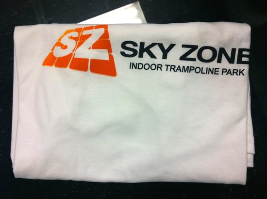 Sky Zone Trampoline Park: Free t-shirt for the birthday girl/boy.
