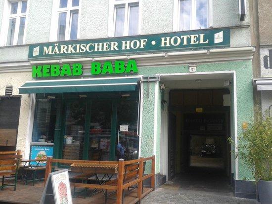 Hotel Berlin Märkischer Hof am Tacheles: Frontansicht