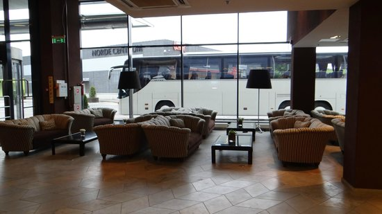 Hotel Euroopa: холл
